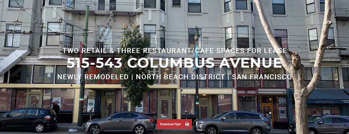 515-543 Columbus Avenue, San Francisco, CA