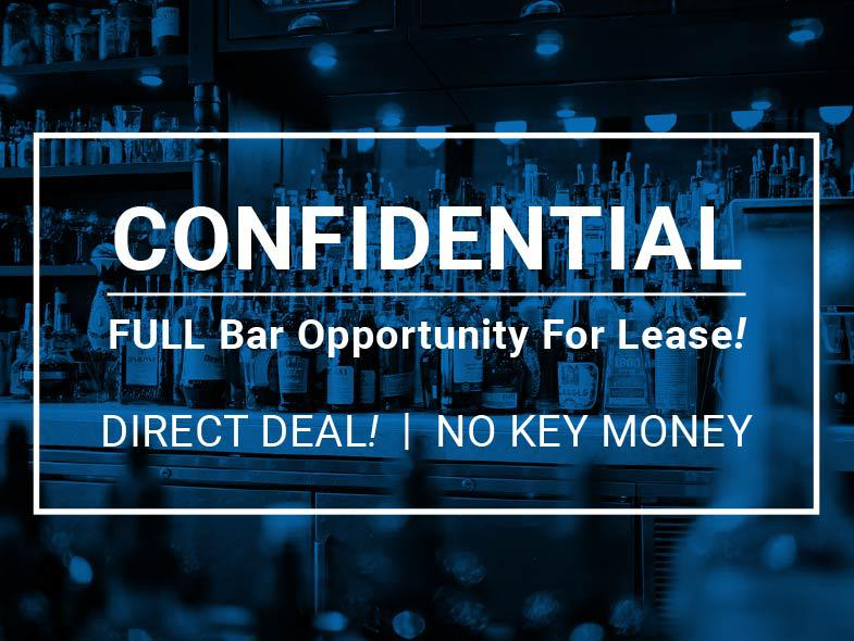 Full Bar Opportunity For Lease!, San Francisco,  Photo