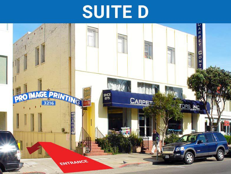 3216 Geary Boulevard (Suite D), San Francisco,  Photo